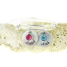 name charms jc jewelry design s birthstone and name charm bracelet