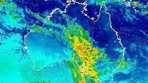 australia satellite map adelaide melbourne sydney forecast severe weather warning issued