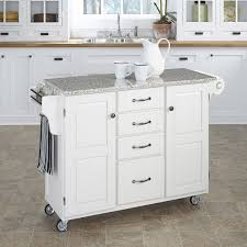 kitchen islands with granite top august grove adelle a cart kitchen island with granite top reviews