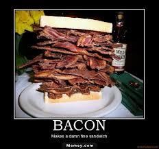 Funny Bacon Meme - big bacon sandwhich memey com