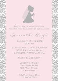 religious invitations holy communion invitation religious invitation 10 00