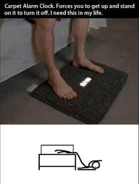 Alarm Clock Meme - carpet alarm clock
