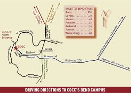 driving directions maps driving directions central oregon community college