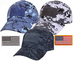 American Flag Camo Hat Mens Digital Camouflage Tactical Cap U0026 Usa Flag Patch Rothco