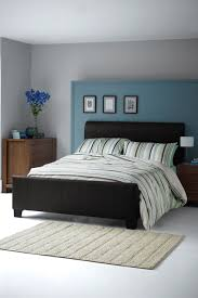 Feature Blue Wall Paint Wall  Feature Wall Paint Colour Ideas - Bedroom paint colour ideas