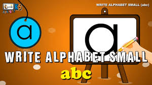 learn to write abc writing alphabet letters for children