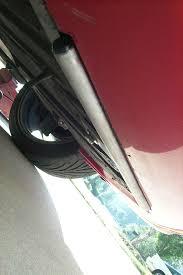 porsche 993 gert u0027s front protection bar installation 911 carrera