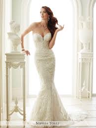 strapless wedding gowns strapless wedding dress with plunging neckline