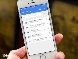 google docs for iphone and ipad review it u0027s just as bad as google