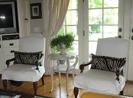 Diy Dining Room Chair Covers by Dining Room Chair Slipcovers For Special Dinner Event Bedroom Ideas
