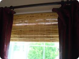 Blinds Outside Of Window Frame Bamboo Or Blinds From Thrifty Decor