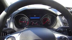 2013 ford focus check engine light ford vehicle test mode screens 2014 ford focus st youtube