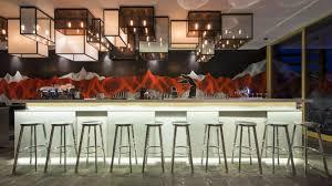 w luxury hotel verbier chandeliers lighting pinterest
