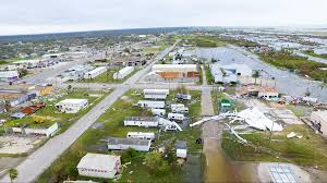 New Orleans Murder Map by Aransas Pass After Hurricane Harvey See Incredible Drone Video