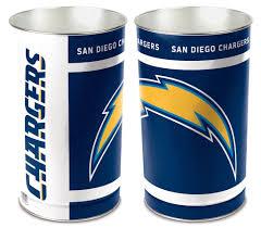 Bedroom Wastebasket San Diego Chargers Bedroom San Diego Chargers 15