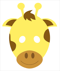 6 giraffe animal templates free printable crafts u0026 colouring