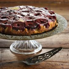 plum u0026 cinnamon upside down cake recipe quick and easy at