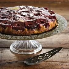 plum u0026 cinnamon upside down cake recipe quick and easy at