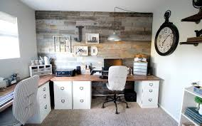 two farmhouse a farmhouse inspired office for two marilynn design consultant