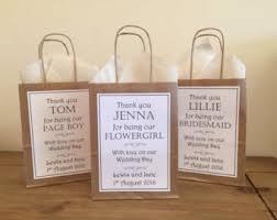 personalized wedding gift bags wedding gift bags designsbydaisyandmax