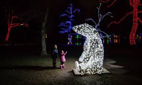 christmas lights in niagara falls ontario winter festival of lights clifton hill district niagara falls canada