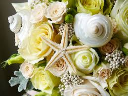 wedding bouquets with seashells seashell wedding bouquets bridesmaid trade
