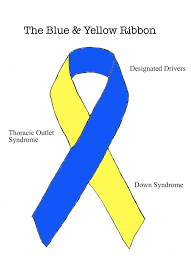 blue and yellow ribbon the blue and yellow ribbon by ryu ren on deviantart