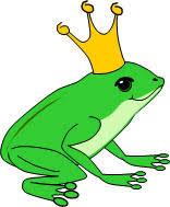 story princess frog