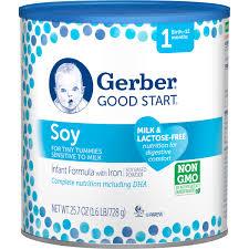 nestle good start soy plus infant formula soy based with iron