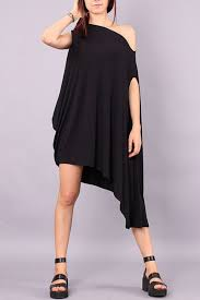 asymmetrical dress black oblique neck sleeveless asymmetrical dress oasap