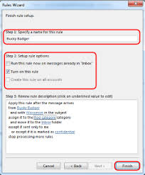 office 365 outlook 2013 use rules to manage your email