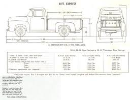 Ford F 150 Truck Bed Dimensions Ford F150 Truck 1956 Smcars Net Car Blueprints Forum