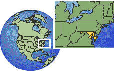 map us baltimore current local time in baltimore maryland united states