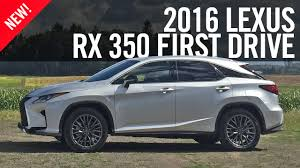 customer reviews on lexus rx 350 2016 lexus rx 350 rx 450h first drive review youtube