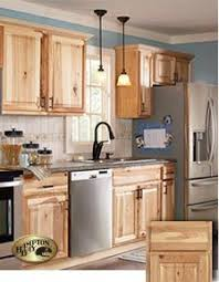Hickory Kitchen Cabinet American Classics Hampton Natural Hickory Cabinets Used In The