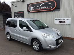 peugeot partner 2009 used peugeot partner tepee diesel for sale motors co uk