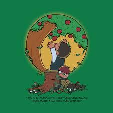 the giving tree the giving tree t shirt teepublic