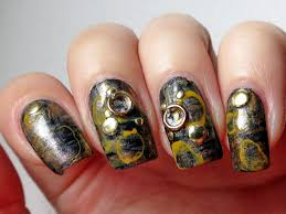 Steampunk Decorations Steampunk Nail Art Bornprettystore Com Nail Art Studs And Round