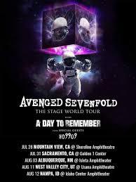 Avenged Sevenfold Flag Avenged Sevenfold U0027s Concert History Concert Archives