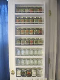 spice rack behind pantry door house plans pinterest pantry