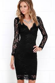 black lace dress lace dress black dress sleeve dress bodycon dress 49 00