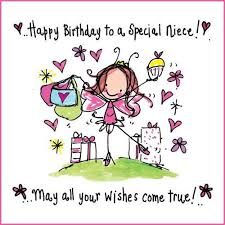 special birthday wishes for niece images quotes messages