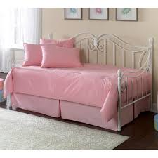 girls daybed bedding sets stephanie iron daybed by fashion bed group wrought iron metal