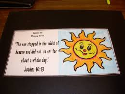 hands on bible teacher joshua the day the sun stood still