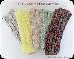 diy crocheted earwarmers