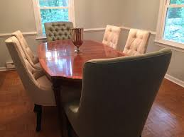 my green front furniture purchases the small and chic home the chairs are made by jessica charles located just a few hours away in hickory nc you know how much i love furniture that s made in north carolina