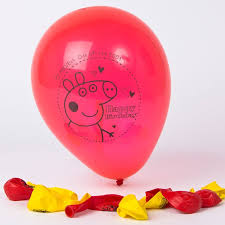 pig balloons peppa pig balloons pack of 10 only 1 99