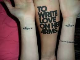 brilliant literary tattoo design for couple tattooshunter com