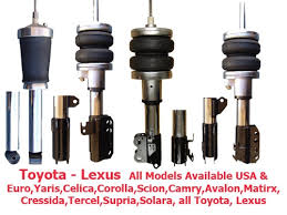 toyota corolla struts trust the air suspension ride pros find exclusive deals on