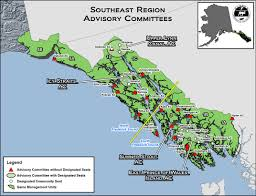 Ketchikan Alaska Map advisory committees alaska department of fish and game